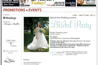 Minneapolis Wedding Photographer Attends Wedding Fair