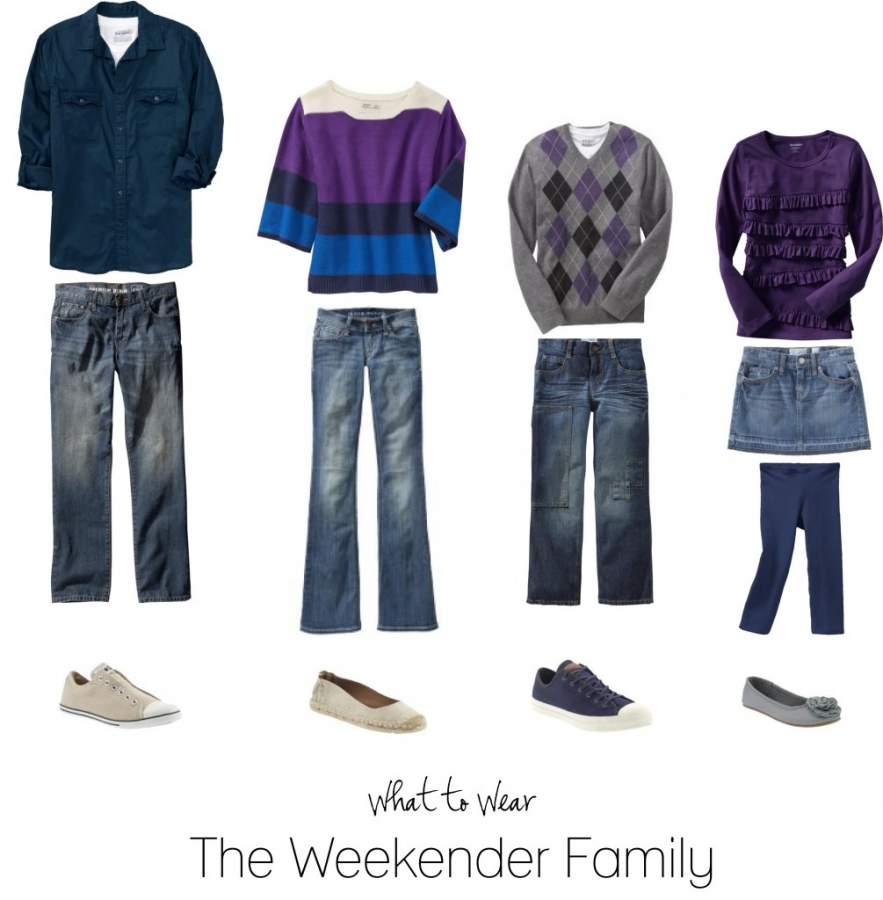 What to wear for the laid back family