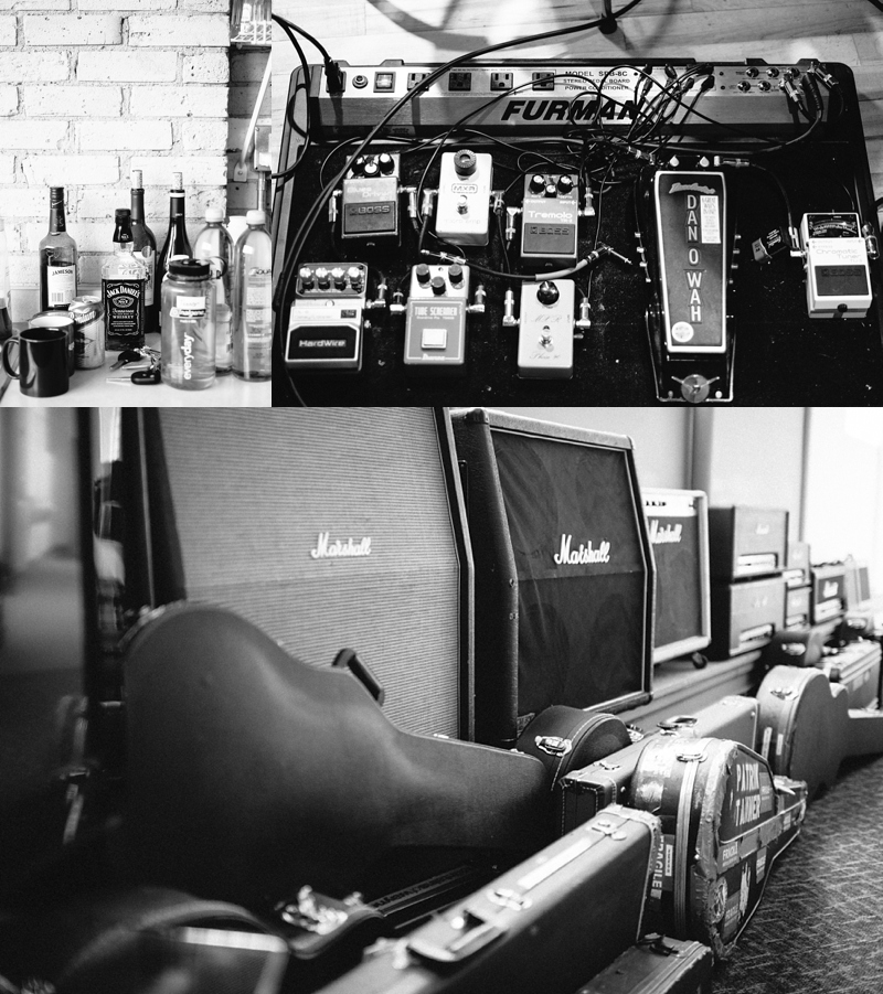 Guitars and Recording Gear