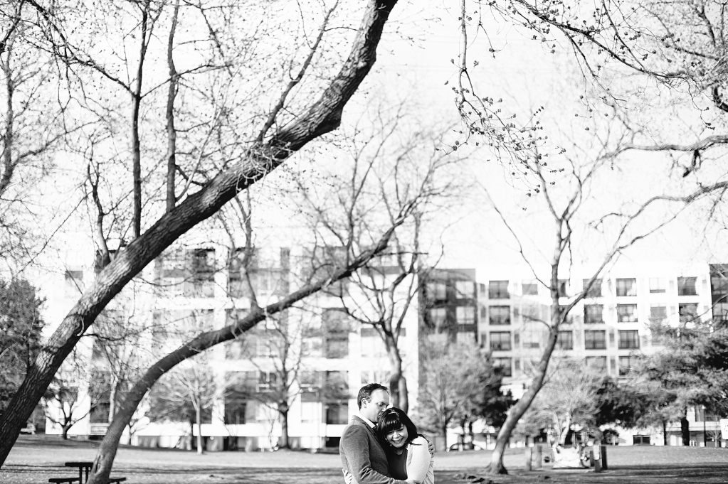 Stone Arch Engagement Session