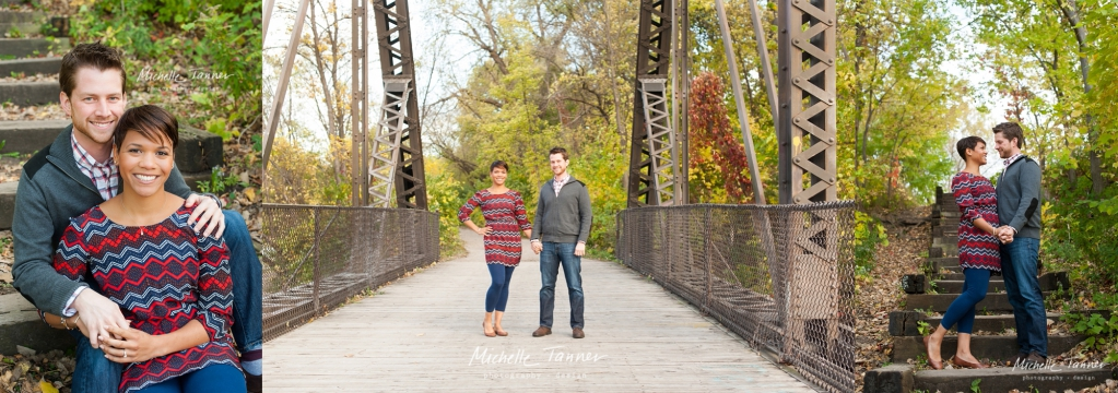 Minneapolis Wedding Photography at Boom Island Bridge