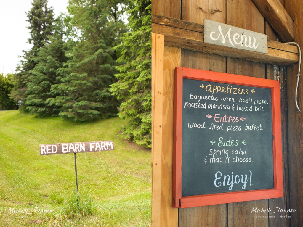 Red Barn Farm Pizza Wedding